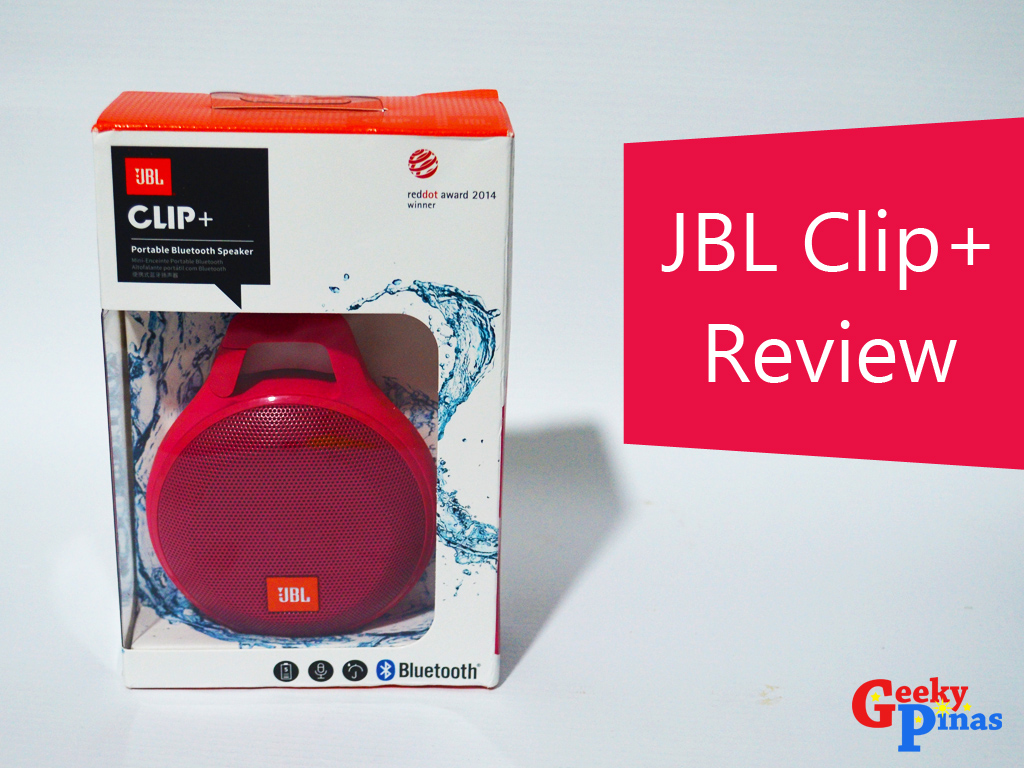 Jbl Clip Impressions Review Geeky Pinas Speaker 2