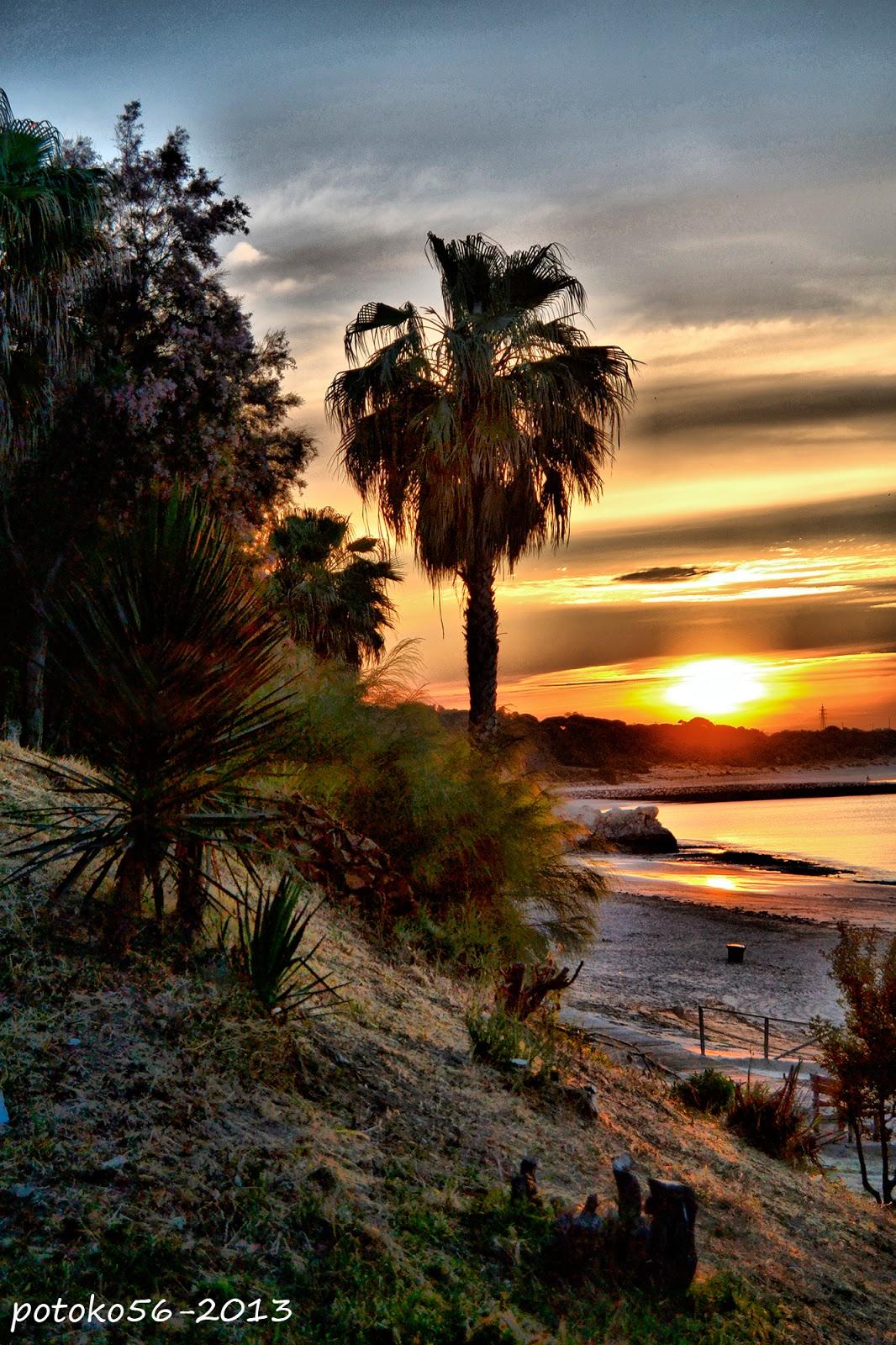 la naturaleza en el amanecer Rota