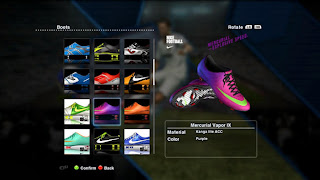 PES PRO EVOLUTON SOCCER 2014 boots Free Download Pro Evolution Soccer ( PES ) 2014 Full Crack Patch 1.01 For PC
