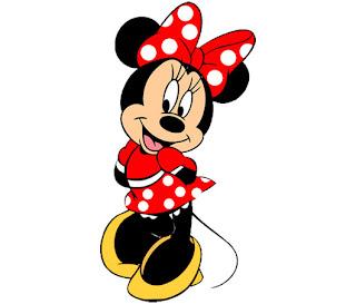 Minnie para imprimir