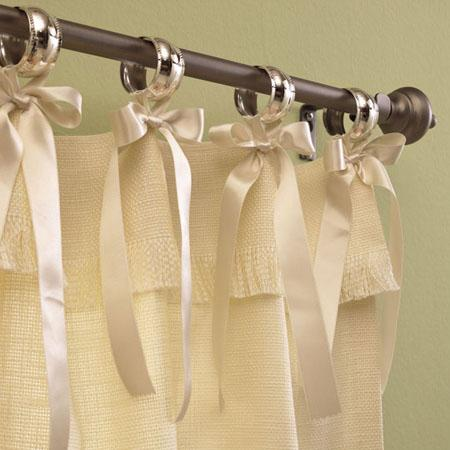 Cortinas f ceis decora o e inven o for Ganchos para cortinas de tela