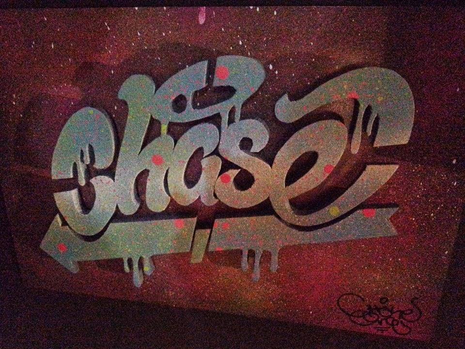 Labelsing Character Graffiti Legal Throw Ups Wall
