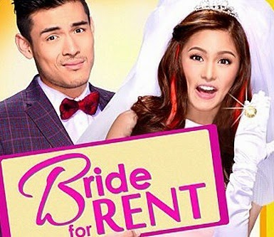 Kim Chiu and Xian Lim - Bride for Rent movie