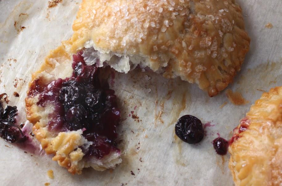 Seattle Pastry Girl: Blueberry Hand Pies and Shellfish Foraging