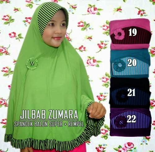 Jilbab jumbo rempel modelnya syar'i dan cantik alami