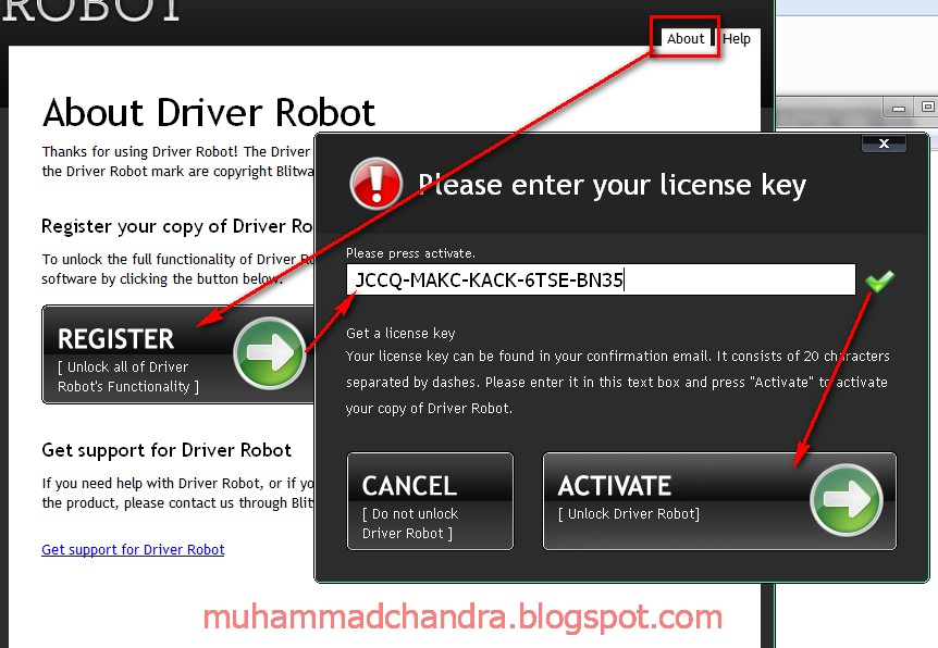driver robot free license key