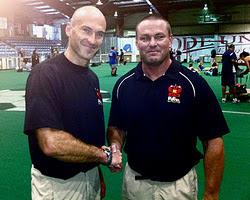 Coach Mills with Pavel Tsatsouline
