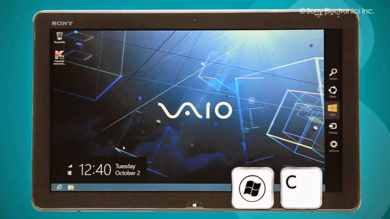 sony vaio system restore windows 8