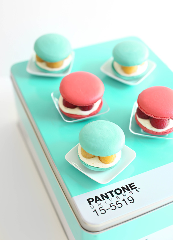 Raspberries and Cream Macarons (and a giveaway!)