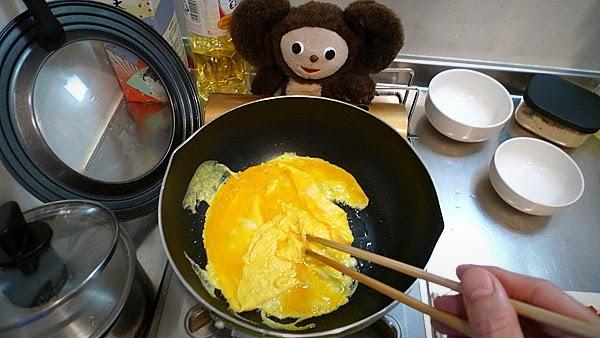 トマ玉チキンあんかけ焼きそばの作り方(1)