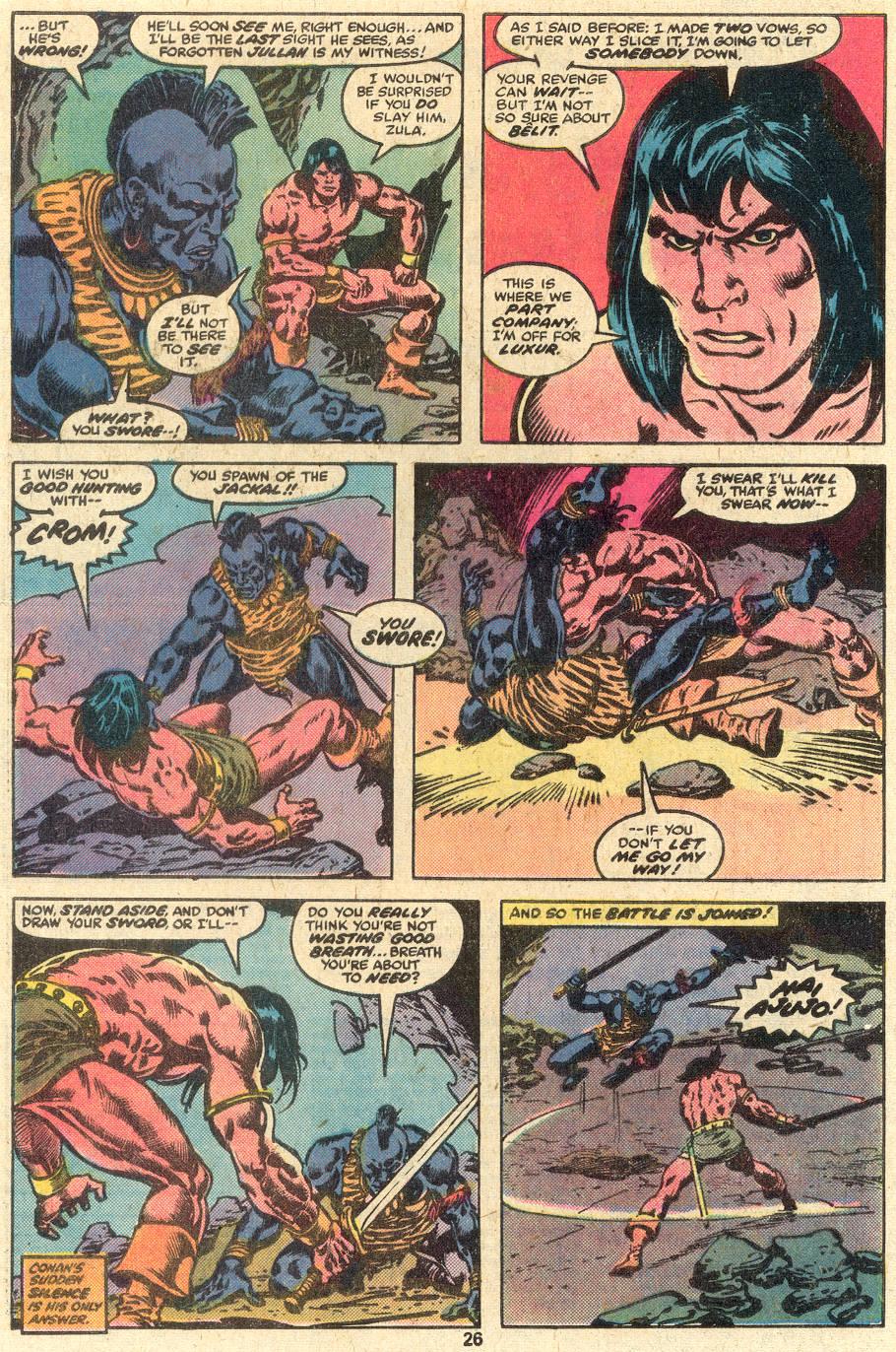 Conan the Barbarian (1970) Issue #85 #97 - English 15