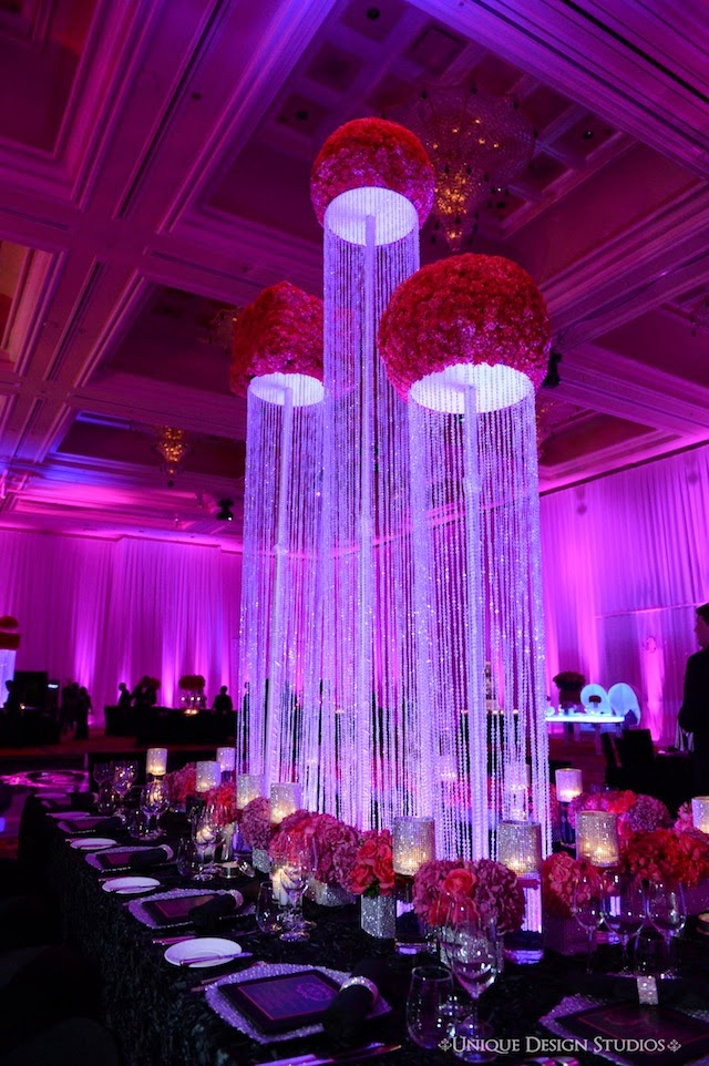 Dream design weddings by tiffany cook bring on the bling for Bling decor