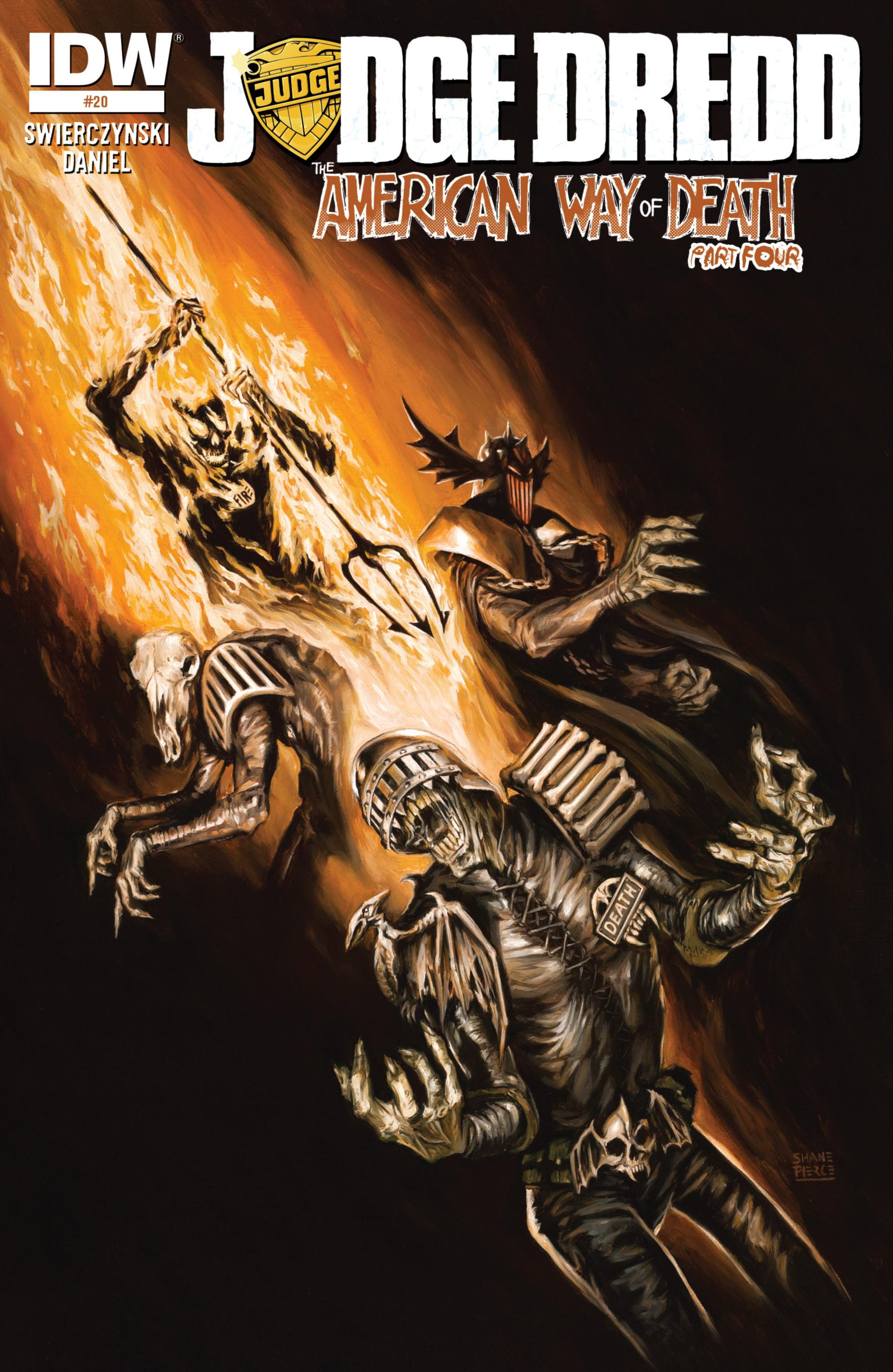 Read online Judge Dredd (2012) comic -  Issue #20 - 1