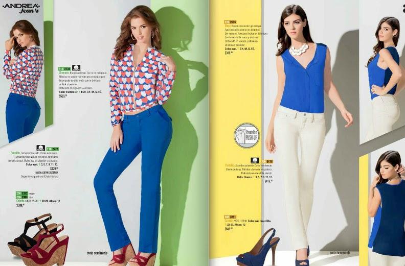 Catalogo Andrea  primavera 2015 : ropa de moda