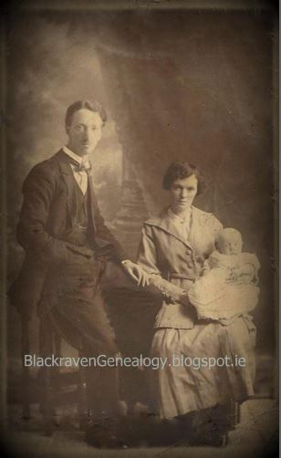 Arthur O'Neill & Winifred (Earley, O'Connor) O'Neill (Dublin & Kiltimagh)