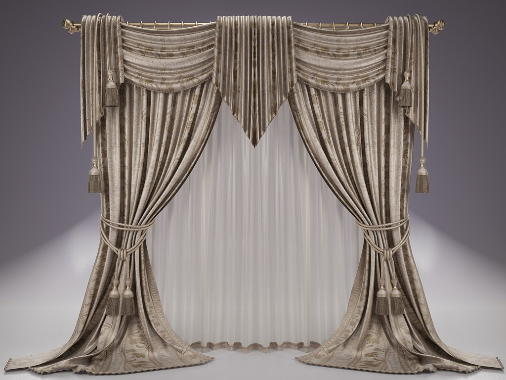Awesome Pinch Pleat Drapes With Curtain Styles And A Fresh Green Color ...