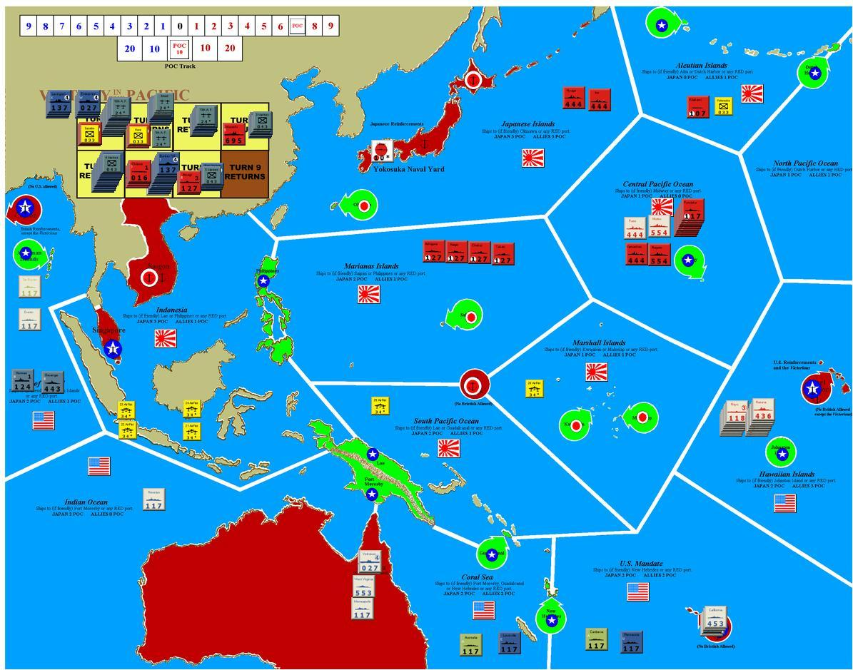 my japanese plan was a standard push for hawaii with a maximum pearl harbor raid force the results of the dec 7 air raid were quite exceptional with 6 of