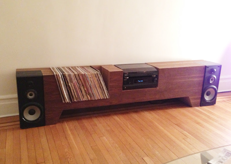 Record Player Table Furniture