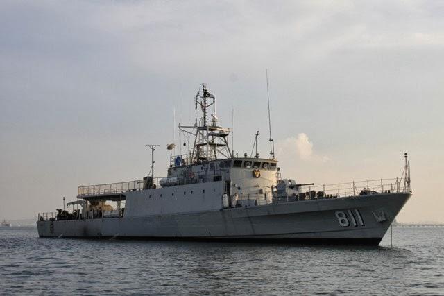 KRI Kakap-811 Amankan Perairan Perbatasan Indonesia-Philipina
