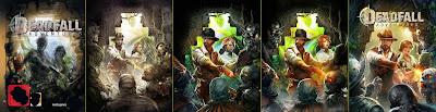 Deadfall Adventures - genesi della cover