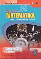 toko buku rahma: buku SERIBUPENA MATEMATIKA UNTUK SMA KELAS X, pengarang husein tampomas, penerbit erlangga