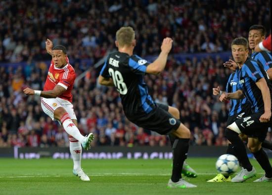 Memphis Depay fez o gol de empate e o da virada do Manchester United