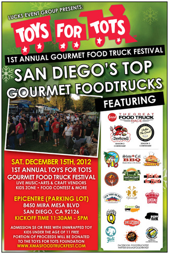 Toys For Tots Food : Sandiegoville benefiting toys for tots san diego don t