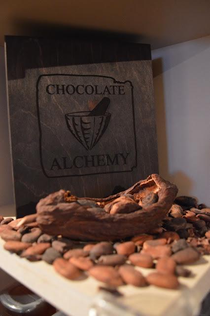 Chocolate Alchemy sign