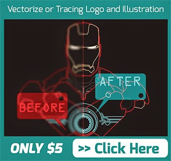 I will vectorize logo and illustration for $5