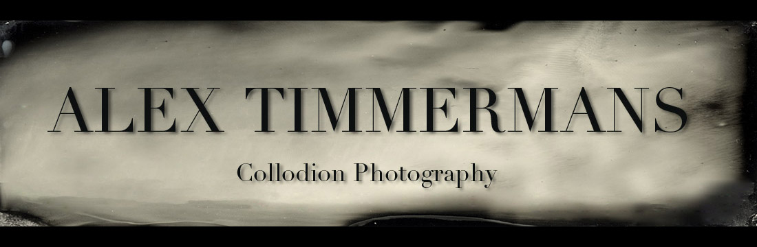 Alex Timmermans Collodion Ambrotype wet plate Photography