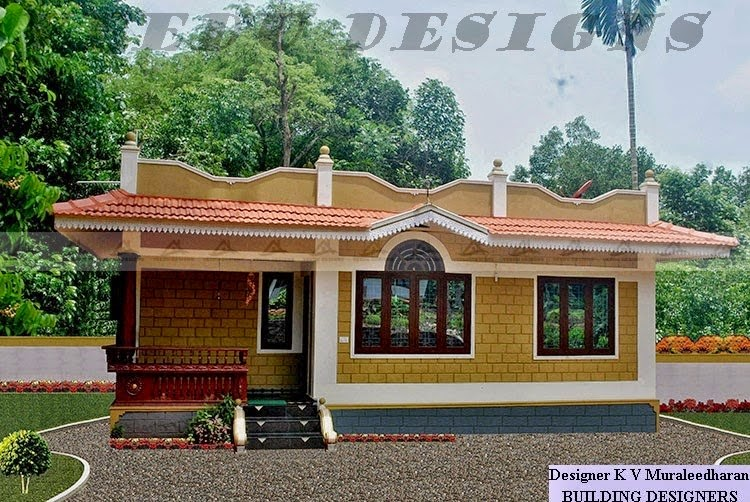 VEEDU DESIGNS: KERALA LOW COST HOME DESIGN BY BUILDING DESIGNERS ...