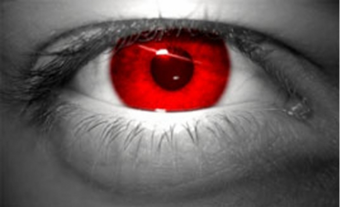 Pin yeux rouges on pinterest for Interieur yeux rouge