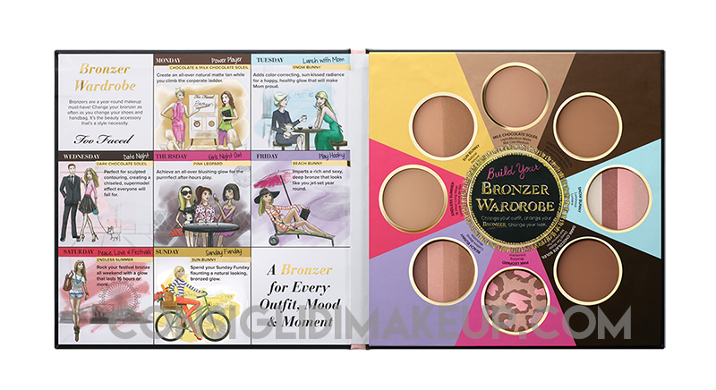 novità too faced primavera 2015  the bronze wardrobe