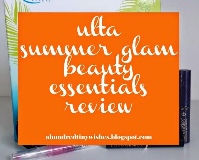 Ulta summer glam beauty essentials review