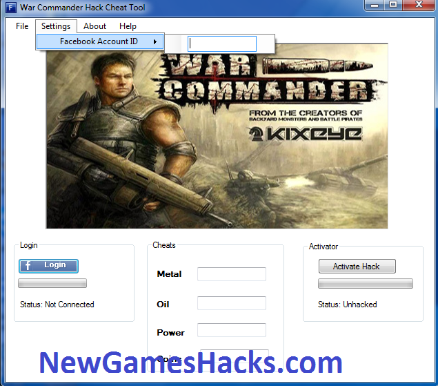 This is a 100% Working Hack Tool for War Commander Game Hack Tool
