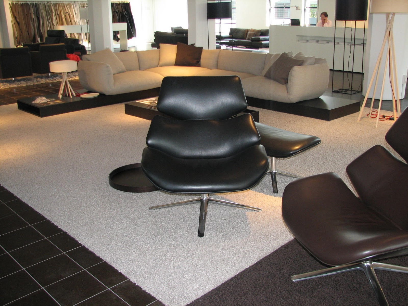 ploemen interieur showroom cor en interl bke in rheda wiedenbr ck. Black Bedroom Furniture Sets. Home Design Ideas