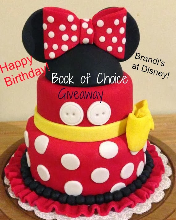 Brandi Breathes Books Happy Disney and Birthday to me GIVEAWAY