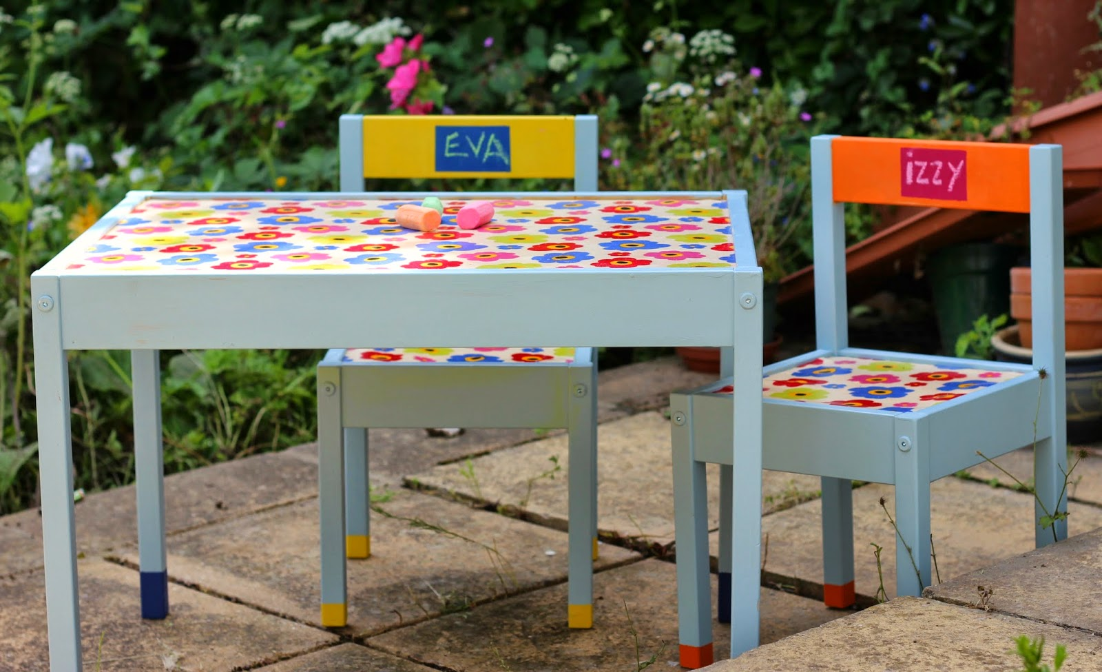 The Ikea Kiddy Furniture Makeover