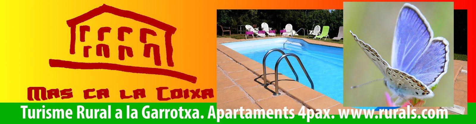 Mas ca la Coixa, casa de turisme rural a la Garrotxa.