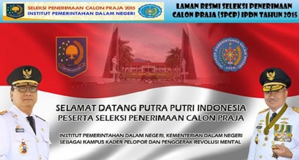 PEMERINTAHAN ACEH : SELEKSI PENERIMAAN CALON PRAJA IPDN T.A 2015 - ACEH, INDONESIA