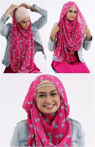 Tutorial dan Tips Hijab PashminaTips Hijab Pasmina