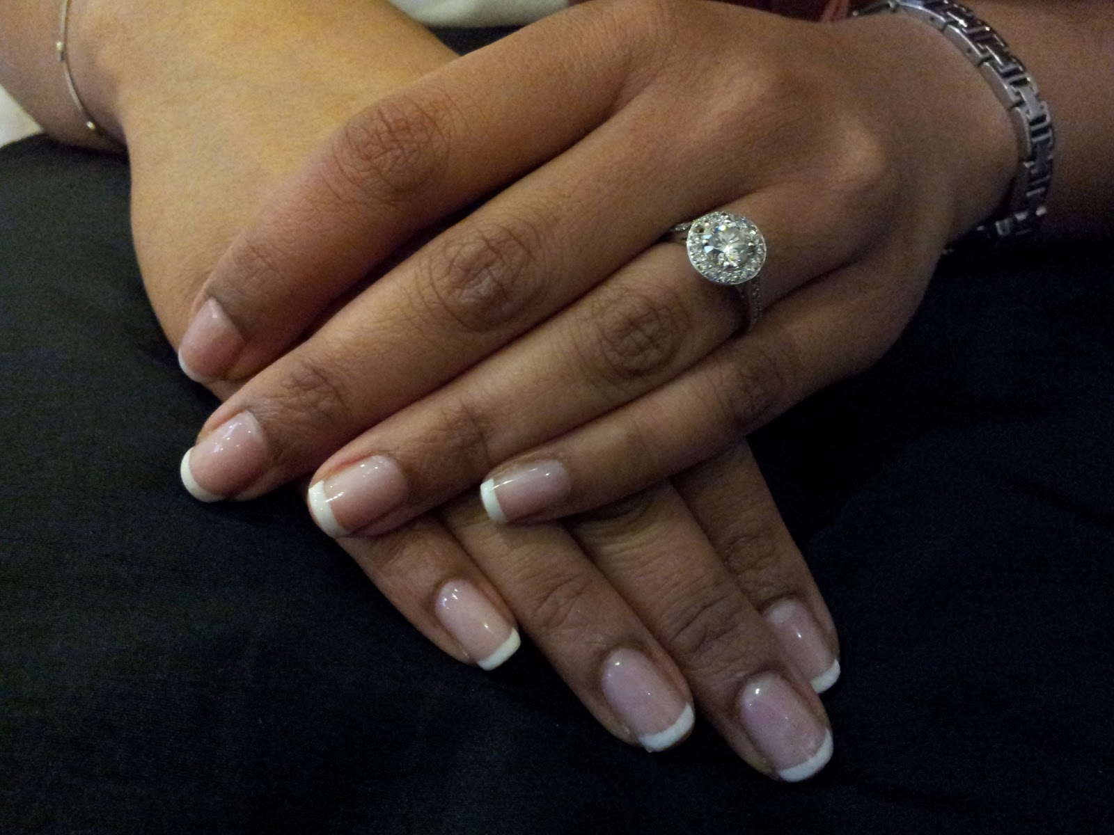 ArtzeeNailz: Gelish French Manicure