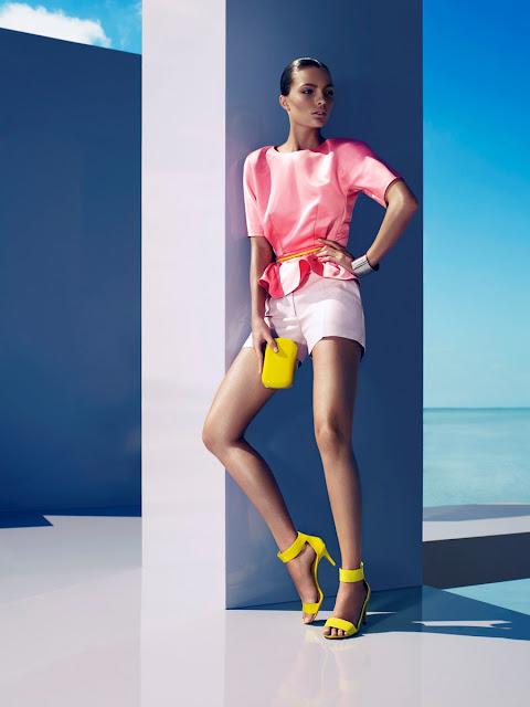 Carola Remer, Camilla Akrans, Clare Richardson,  H&M Magazine, Summer 2012