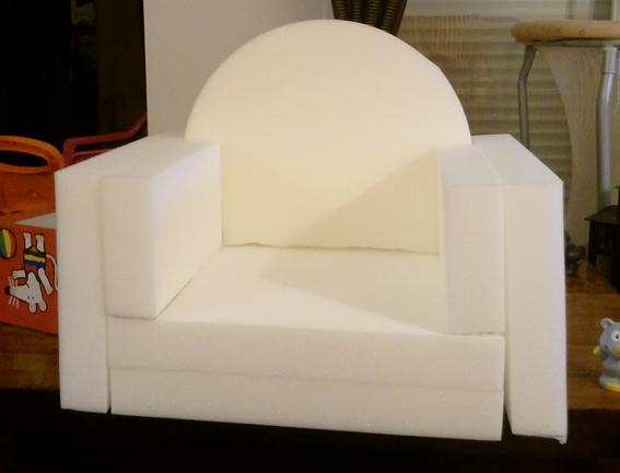 Aujourd 39 hui j 39 ai plusieurs projets en cours - Mousse pour fauteuil belgique ...