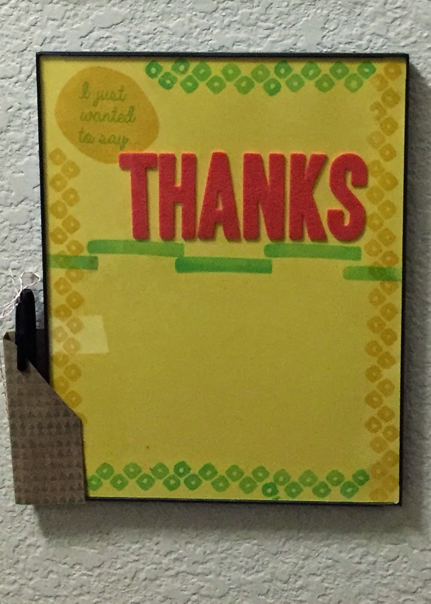 Layers of Gratitude Paper Pumpkin Alternate Message Board MidnightCrafting