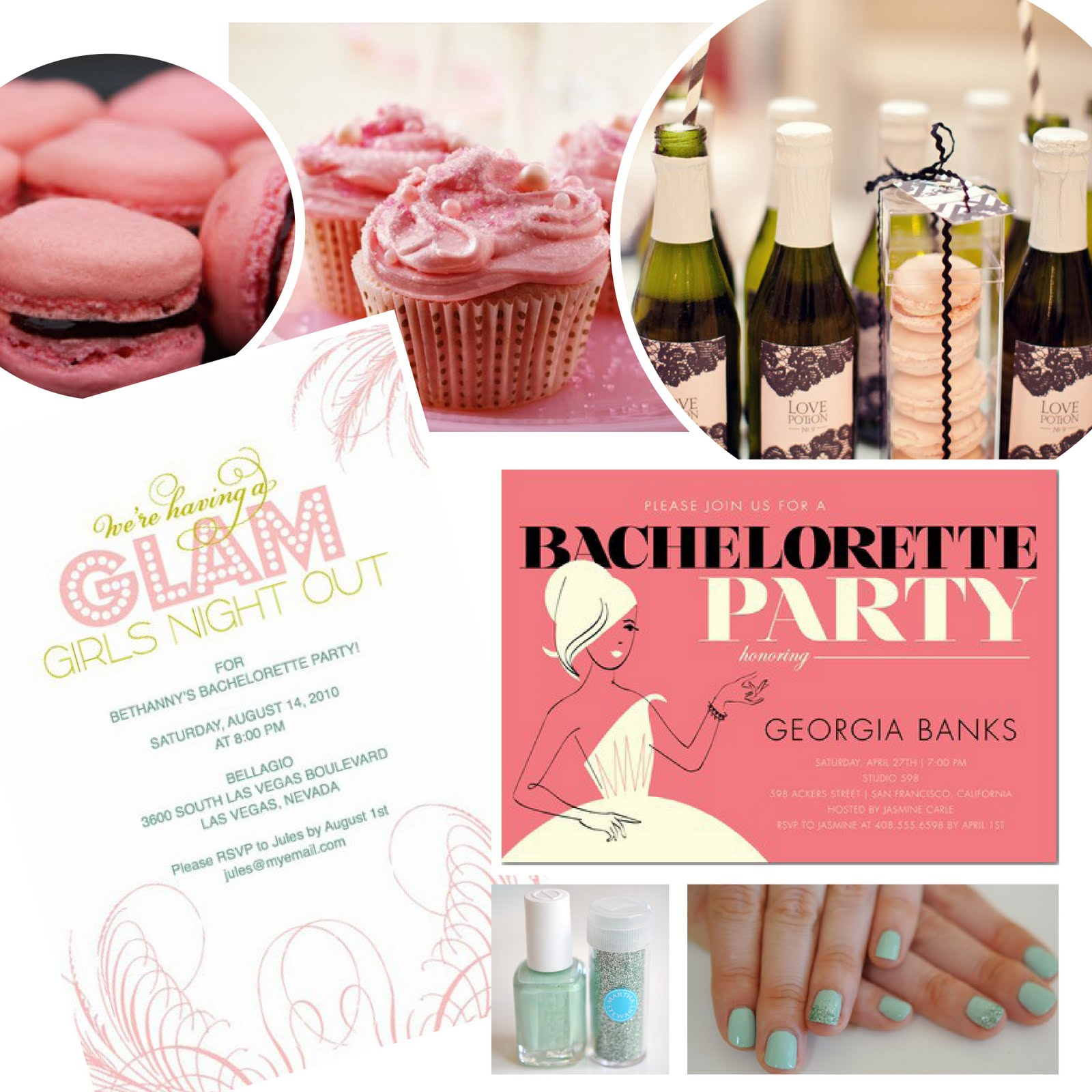 Bachelorette party themes that take the cake name change for Bachelorette party decoration ideas
