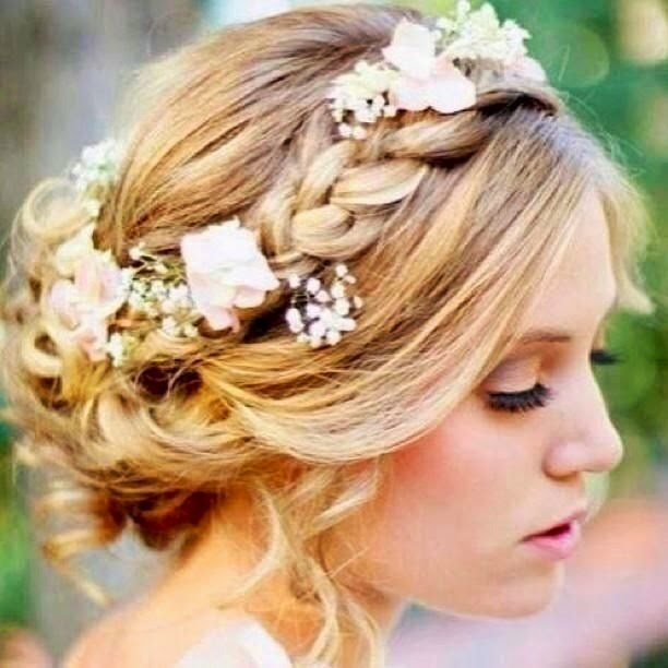 10 peinados fáciles y rápidos para cabello corto o largo  - Peinados De Novia Con Tocado