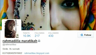 Follow @rahmadillaa on twitter