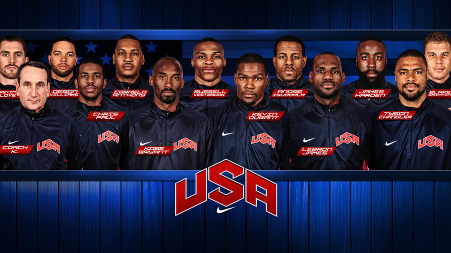 USA Basketball Team 2012 Wallpaper