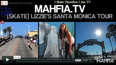 Lizzie Armanto, Santa Monica, Zephir, Santa Monica Airlines skateboards, The Cove, POP